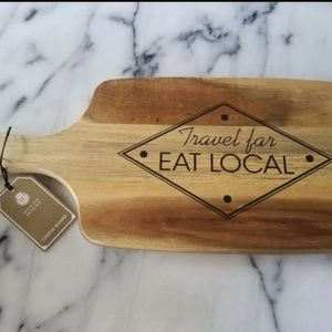 Other - Boho / travel wood cheese cutting board